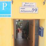 Entrada de casa Alfareria 59