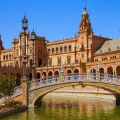 La Plaza de Espana Sevilla